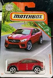 Amg gle 43 4matic coupe. Amazon Com Matchbox 2019 Mercedes Benz Gle Coupe Red Toys Games