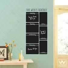 wall decal calendar plus large