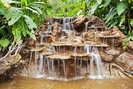 cascading waterfall in a costa rica rainforest la paz waterfall gardens stock photo 34058413