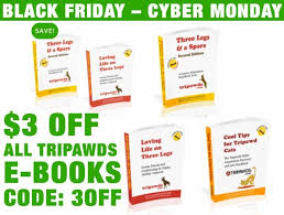 3 Off All E Books With Tripawds Coupon Tripawds Downloads