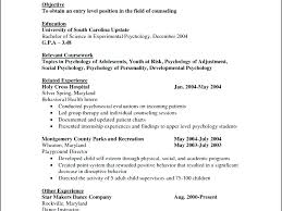 Psychology Resume Example Clinical Psychologist Clinical ...