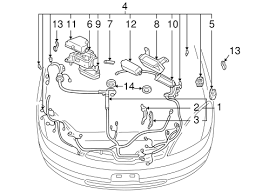 genuine oem wiring harness parts for 2003 toyota prius base electrical wiring harness for 2003 toyota prius 1