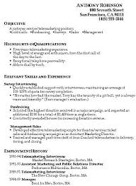 Market Research Interviewer Resume - Resume Ideas