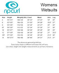 Rip Curl Board Shorts Size Chart Rip Curl Bomb Size Guide