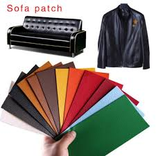self adhesive stick on sofa repairing leather pu patch seat chair bed bag fix dog bite