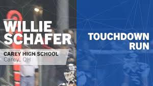 Touchdown Run vs Colonel Crawford - Willie Schafer highlights - Hudl