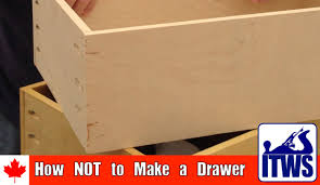 How To Make Drawers How Not To Make A Drawer Youtube