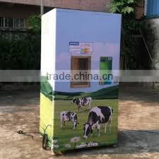 Fresh Milk Vending Machine New Door To Door Supported In Kenya 48L Coin Payment Fresh Milk