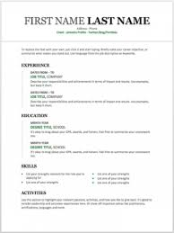 Beautiful Cv Template Word Resume Template For Word Beautiful 11 Free Resume Templates