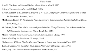 Mla Works Cited Example Scholarly Articles Books And Web
