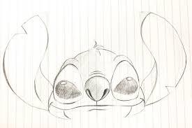 スティッチのイラストの描き方簡単動画でかわいいスティッチを描いて