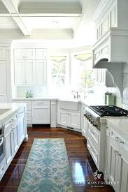 corner kitchen rug sink best kitchens images on rugs farmhouse size captivating