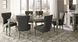 upholstered in grey fabric with black piping the borgia farmhouse dining room set lovely 48 awesome stocks rustic dining room chairs inspiration