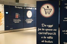 A Milano il primo Carrefour con il locker per ritirare la spesa online -  PUBBLICOMNOW