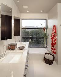Bathroom:Simple Asian Style Bathroom Design With Sliding Glass Door Decor  Idea Exclusive Asian Bathroom