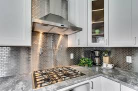 Stainless Steel Mosaic Tile Incredible Kitchen Backsplash