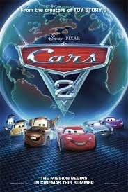 cars 2 the movie cover.  Cars Cars 2 Movie Poster In The Cover M