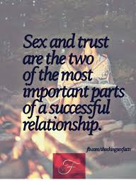 Sex And Trust Are The Two Of The Most A Relationship Beauteous Trust In Relationships