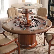 unique hidden bar game table  high rise poker table  la casa