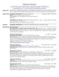Web Administration Sample Resume 7 Personal Assistant Cv Example
