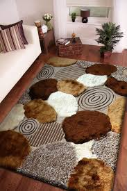 Shaggy Rugs For Living Room Beige With Brown Pattern Shag Rug Colors Ux Ui Designer And