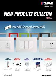 Clipsal Lighting Catalogue New Product Bulletin December 2011 23796 Manualzz Com