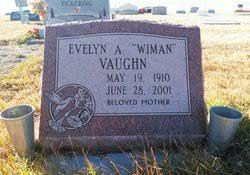 "Evelyn Avis ""Wiman"" King Vaughn (1910-2001) - Find A Grave Memorial"