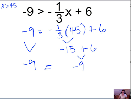 pre algebra 7 6 solving two step inequalities mp4