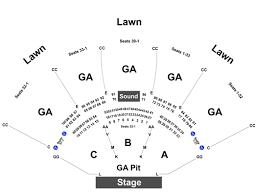 Veracious Klipsch Music Center Interactive Seating Chart