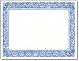 Free Downloadable Certificates Blue Certificate Border Template Certificates Free Monster