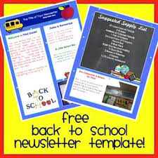 schools newsletter ideas welcome back to school newsletter template word templates publisher
