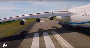 watch this crazy cool video of the an 225 mriya the world s largest airplane taken from a very unique point of view