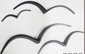 ceramic seagull wall art