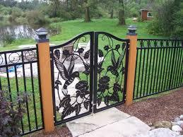 metal fence panels. Good Metal Fence Panels Design B