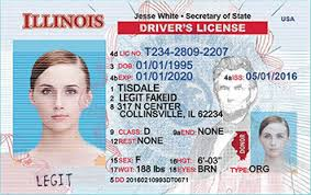 Cards Ids Fake Scannable Legitfakeid Illinois Id