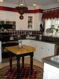 ... Large Size of Kitchen Cabinets 65 Decorators White Cabinet Ideas Dark  Counter Backsplash And Drawer Knobs ...