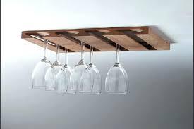 diy wine glass rack nd es wood wooden holder