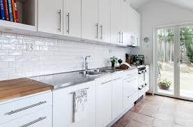 White Kitchen Backsplash Tile White Backsplash Kitchen Kitchen Design