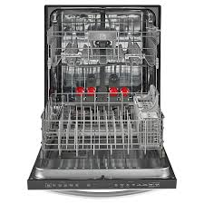 How To Clean The Inside Of A Stainless Steel Dishwasher Built In Dishwashers Black Stainless Steel White More Sears