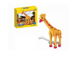 <b>Конструктор Block wild animal</b> мягкий, Жираф, 58 деталей купить ...