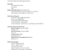Resume Outline Examples Resume Outline Examples Traditional Samples