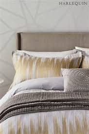 gray and gold bedding. Brilliant Gray Harlequin Motion Pillowcases Throughout Gray And Gold Bedding G