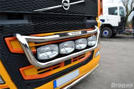 Volvo Xc70 Light Bar Details About To Fit 13 Volvo Fh4 Steel Grill Light Bar C Jumbo Spots Step Pad Side Led