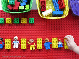 Patterns For Preschool Inspiration Learn With Play At Home Learning Patterns With Lego