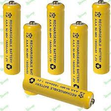 aaa 1 2v 1800mah nimh rechargeable