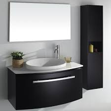 Vanity Bathroom Set Espresso Bathroom Vanity With White Ceramic Top Black Ceramic