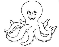 Small Picture 14 best Octopus Coloring Pages images on Pinterest Octopus
