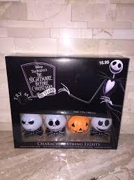 Tim Burton's The Nightmare Before Christmas <b>Halloween String Lights</b>