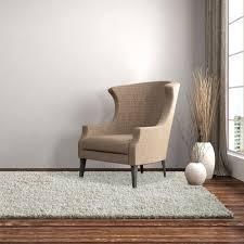 White Living Room Rug Rug Studio Shag Ola White Area Rug Reviews Wayfairca