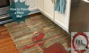 how to paint a foam playmat floor mat do it yourself diy
